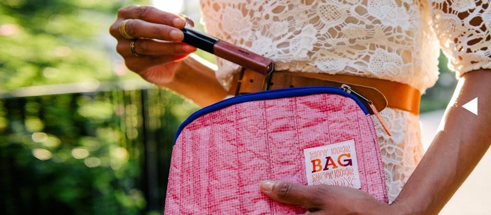 Buy her bag, not her body.