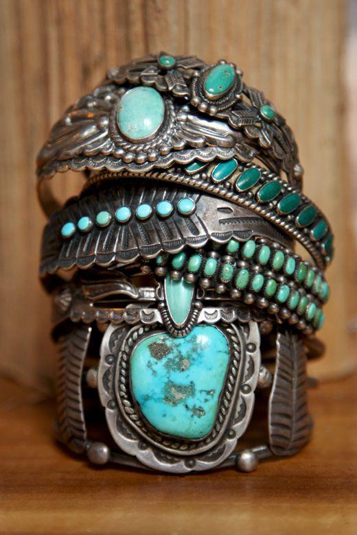 turqstackedbracelets