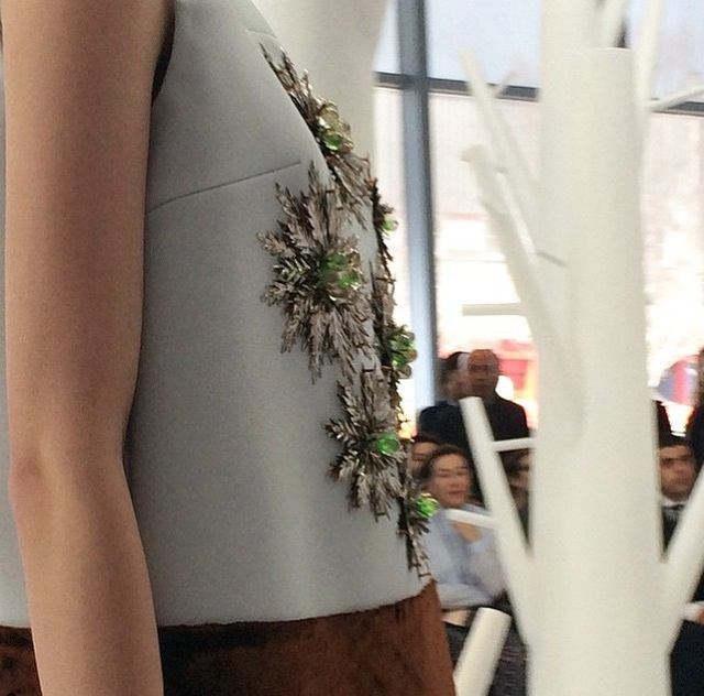 I couldn't get enough of the #Delpozo show. The details are divine.